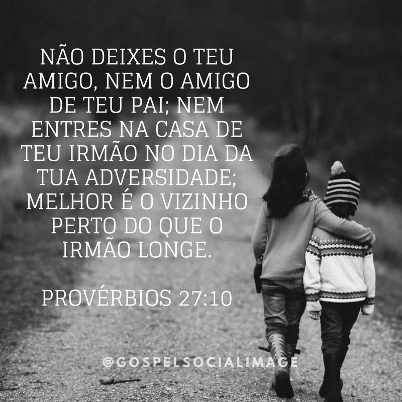 Imagem Bíblica para Amigos Irmãos