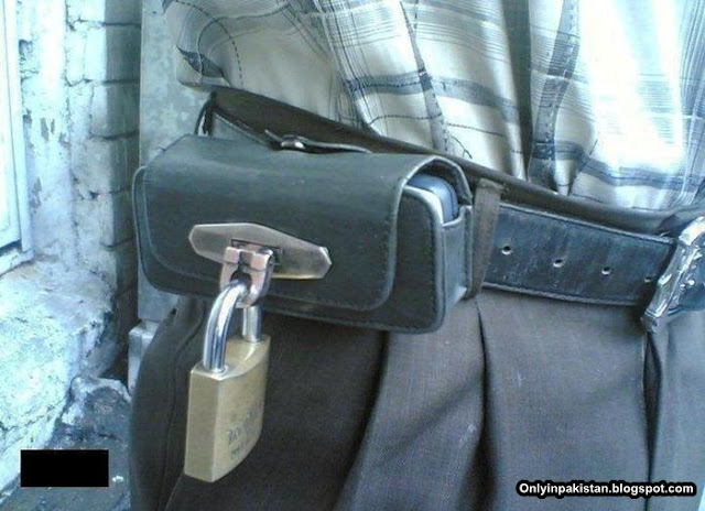 Funny Pakistani Mobile Lock