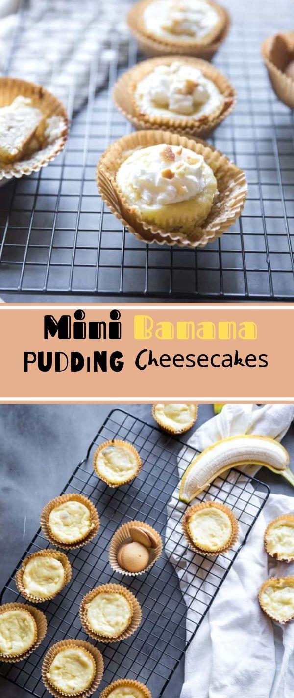 Mini Banana Puddіng Chееѕесаkеѕ #Mini #Banana #Puddіng #Chееѕесаkеѕ Dessert Recipes Easy, Dessert Recipes Healthy, Dessert Recipes For A Crowd, Dessert Recipes Peach, Dessert Recipes Simple,
