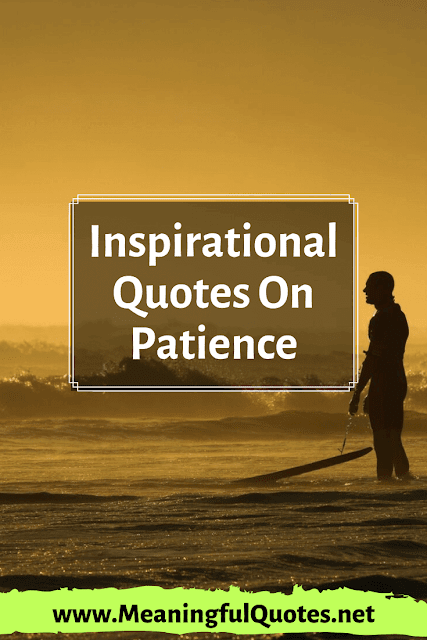 The Best Patience Quotes In Life
