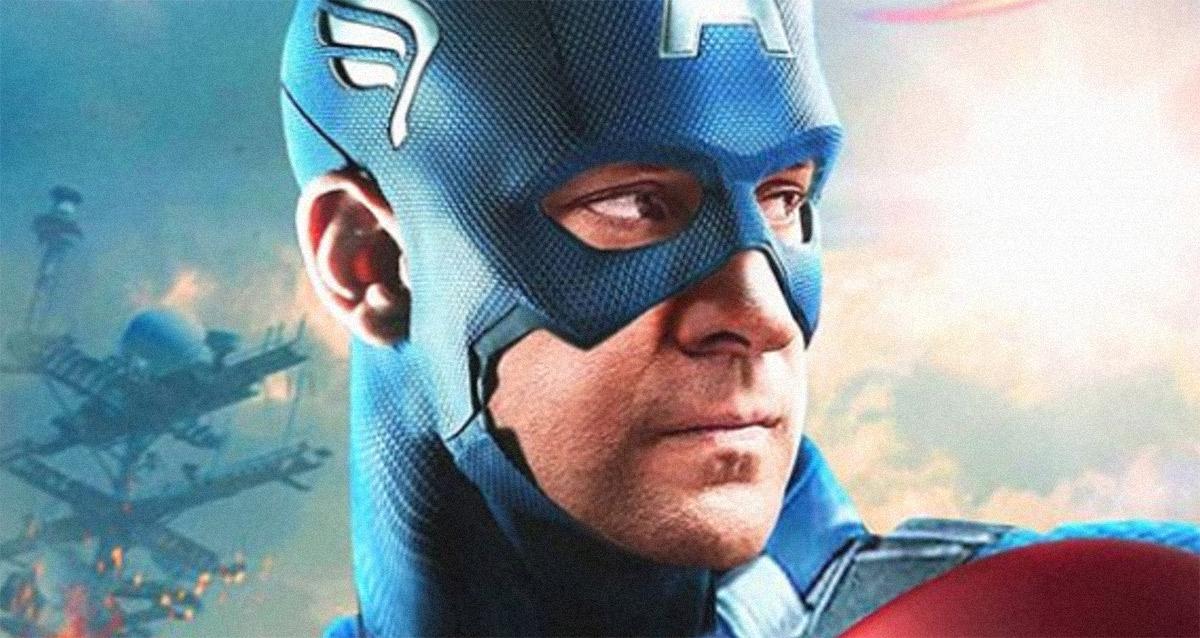 Tecnolgia DeepFake transforma John Krasinski como o Capitão América do MCU