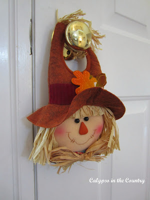 Scarecrow door hanging