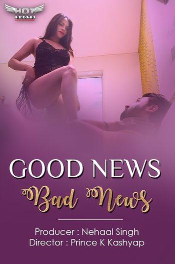 [18+] Good News Bad News 2020 HOT Hindi WEB-DL 720p x264   HotShots Original
