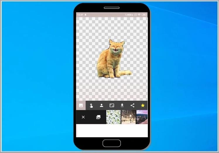 Automatic Background changer: Αφαιρέστε αυτόματα το background στις φωτογραφίες σας