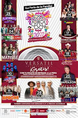 Feria Gómez Palacio 2021