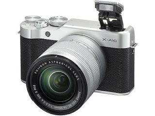 Harga Kamera Mirrorless Fujifilm X-A10 termurah terbaru dengan Review dan Spesifikasi April 2019