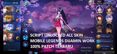 Download Script Unlock All Skin Apk Mod Mobile Legends Terbaru