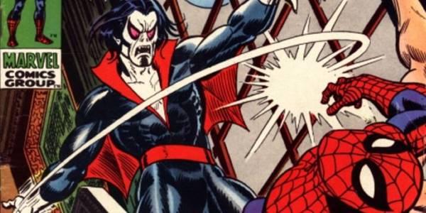 pertarungan morbius melawan spiderman