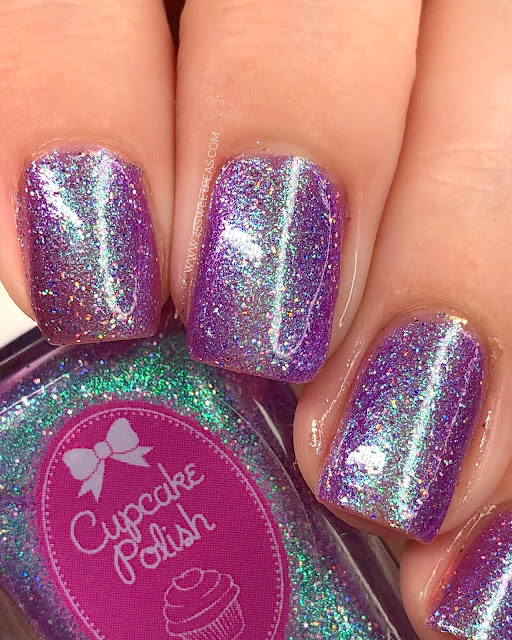 Cupcake Polish Lilac Skies 25 Sweetpeas