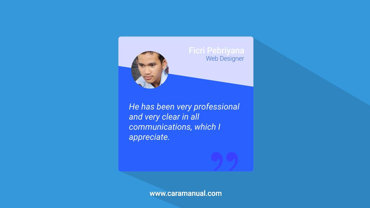 Cara Membuat Widget Testimonial di Blog