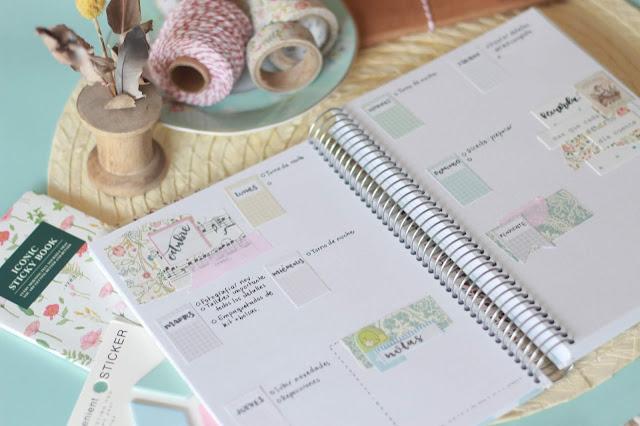 Bullet journal: nuevo descargable para teñir de tonos pastel tu semana