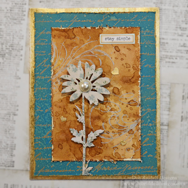 Stay Simple Mixed Media Plaque