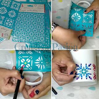 Tazas-decoradas-con-rotuladores-de-porcelana-stencil-y-sellos