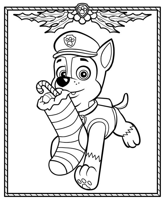 Paw patrol coloring pages 10