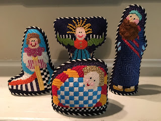 princess & me needlepoint nativity