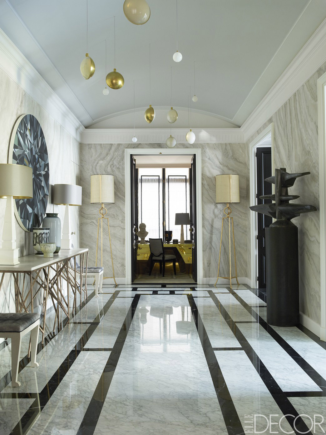 Decor inspiration an elegant french home cool chic for French luxury