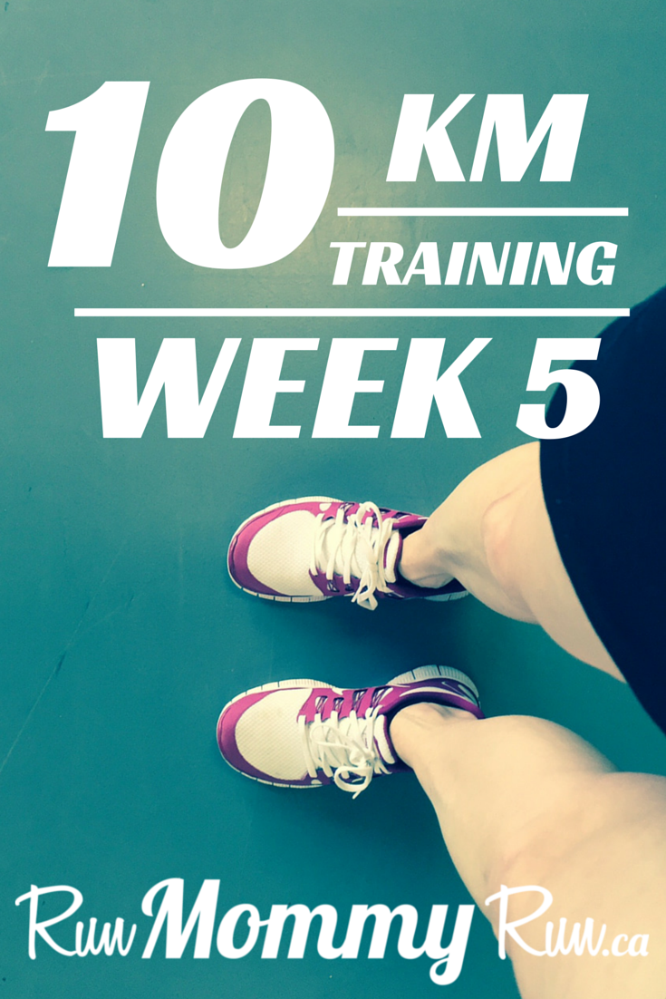 Title image for 10 km training Week 5
