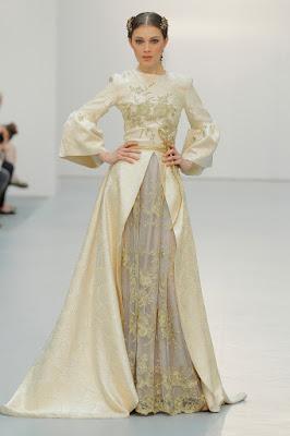 Diseños Amarca en Pasarela Costura España 2015