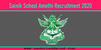 Recruitment in Sainik School
