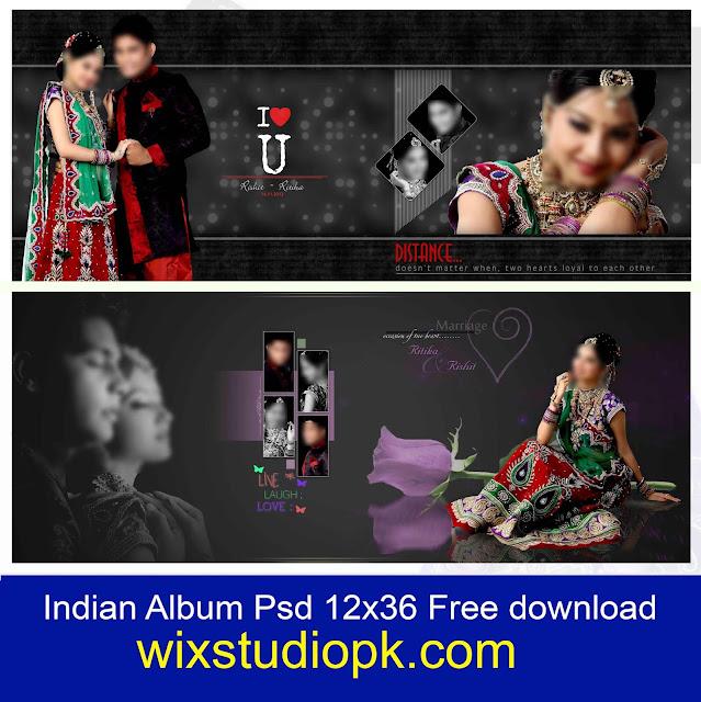 Indian Wedding Album Design 12x36 Psd Files Free Download Dx Album