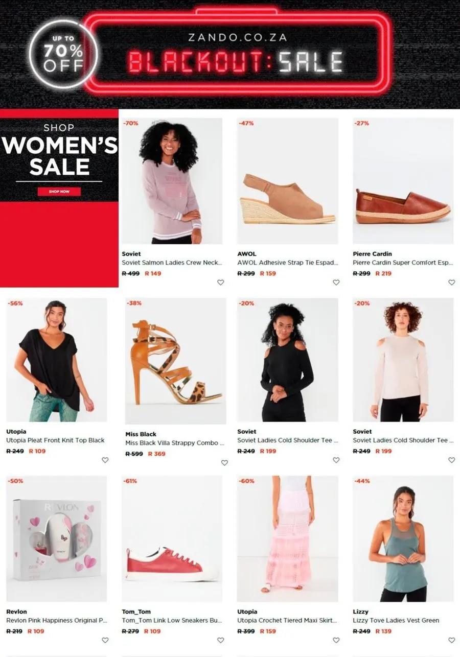 Zando Back Friday Fashion Hot Daily Deals Page 5