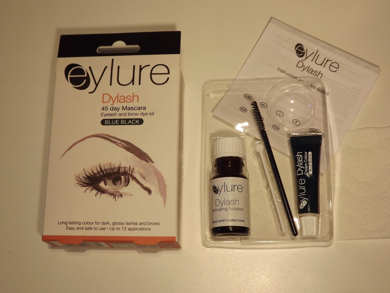 992ef46bed7 EYLURE Pro-Lash Dye Kit Demo & First Impressions (Black .