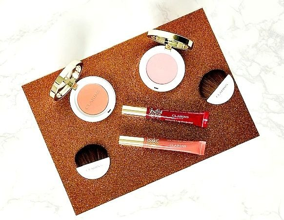 Clarins Autumn Makeup Collection: Joli blushes and Intense Lip Perfectors