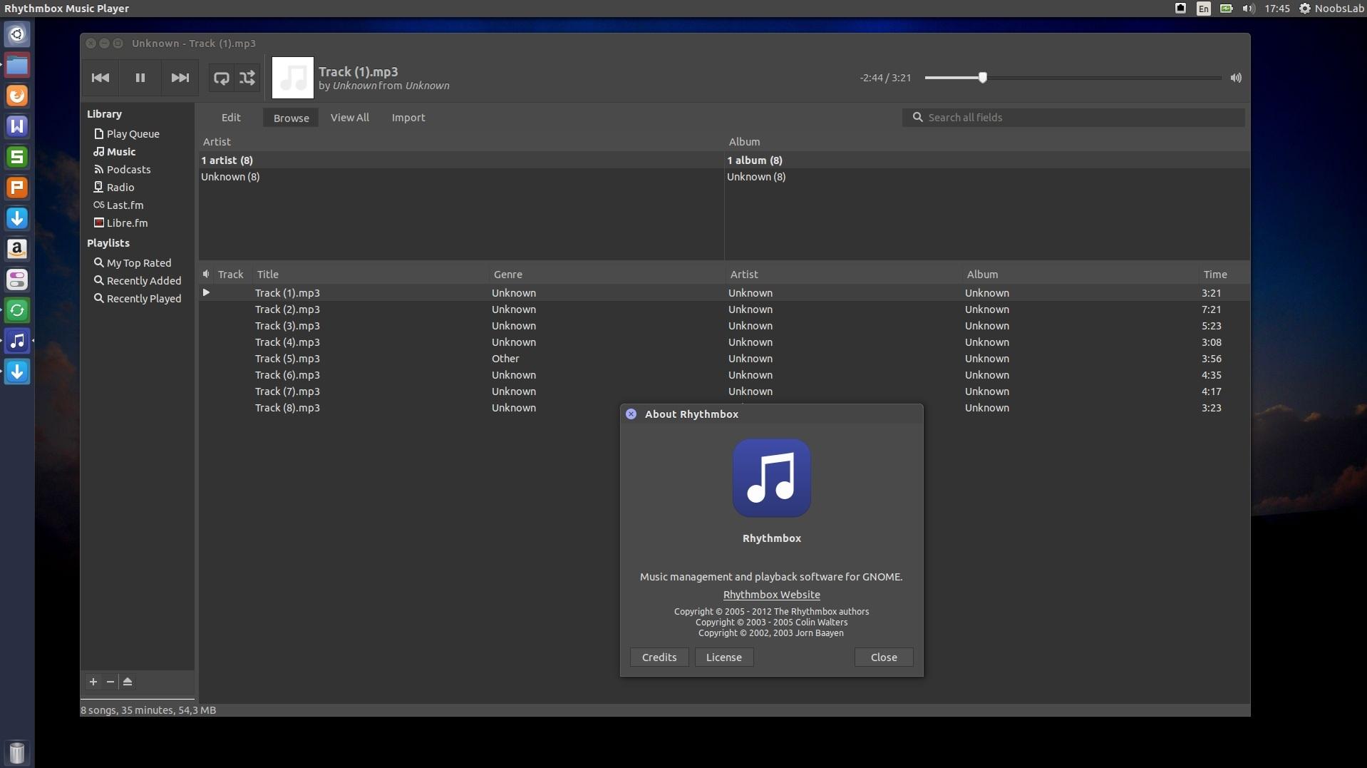 Rhythmbox 3 3 With Lots of Plugins For Ubuntu/Linux Mint
