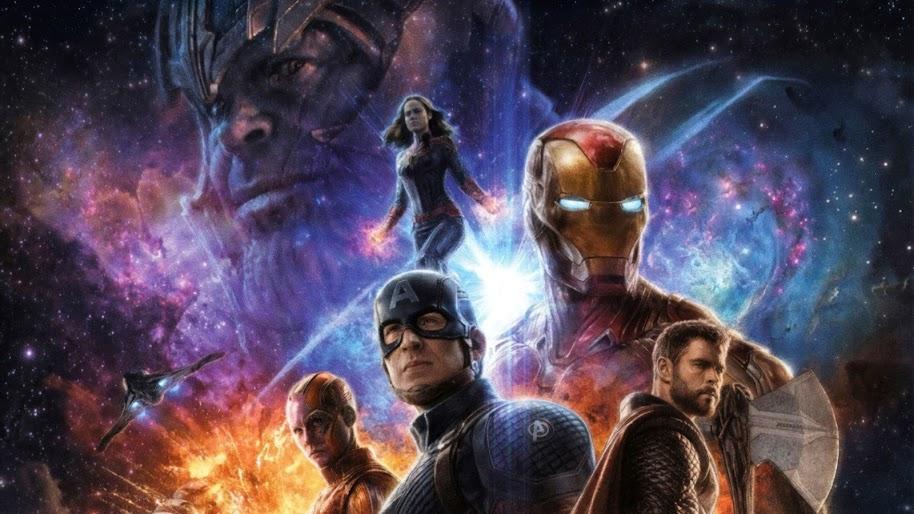 Avengers Endgame Thanos Captain Marvel 4k Wallpaper 106