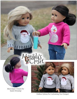 http://www.pixiefaire.com/products/too-cute-to-be-ugly-sweaters-18-doll-clothes