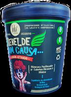 Composição completa - Ingredientes da Máscara Purificante Rebelde com Causa - Lola (Sem Sulfatos, Petrolatos, Silicones e Parabenos)