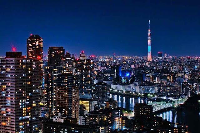 tampat wisata di jepang tokyo skytree