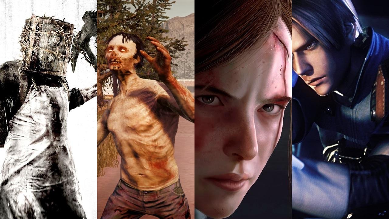 Resultado de imagen para survival horror collage
