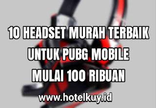 Headset gaming murah pubg mobile