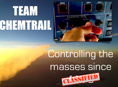 How to control the masses with chemtrails.