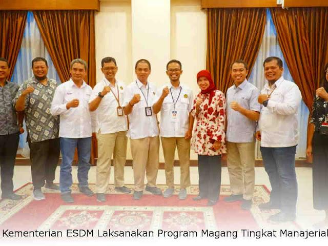 Kementerian ESDM Laksanakan Program Magang Tingkat Manajerial
