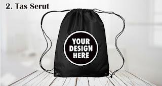 Tas Serut cocok untuk dijadikan souvenir