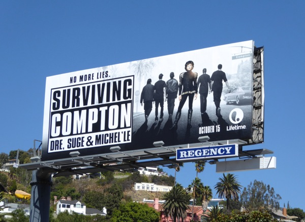 Surviving Compton Lifetime movie billboard