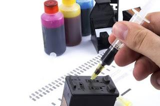 Cara mengisi tinta printer