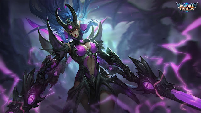 Wallpaper Skin Epic Karina - Doom Duelist