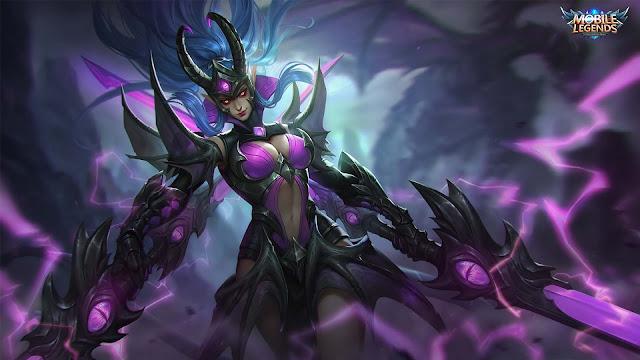 Wallpaper Skin Epic Karina - Doom Duelist