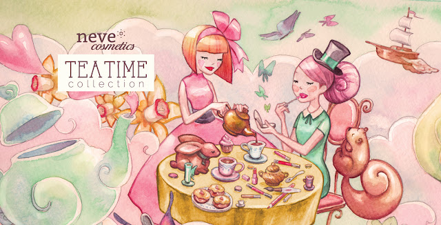 Neve Cosmetics TeaTime Collection