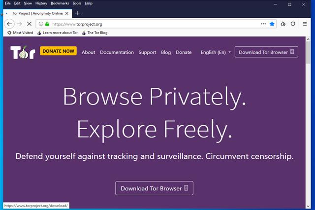 تنزيل المتصفح تور لحماية أنشطتك على الأنترنت والحفاظ على الخصوصية مجانا