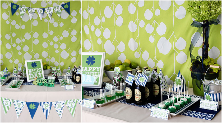 Party St Patricks Day Party Life Baby Baby Showers
