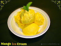 images for Mango Ice Cream Recipe / Eggless Mango Ice Cream Recipe / Easy Mango Ice Cream Recipe / Homemade Mango Ice Cream Recipe