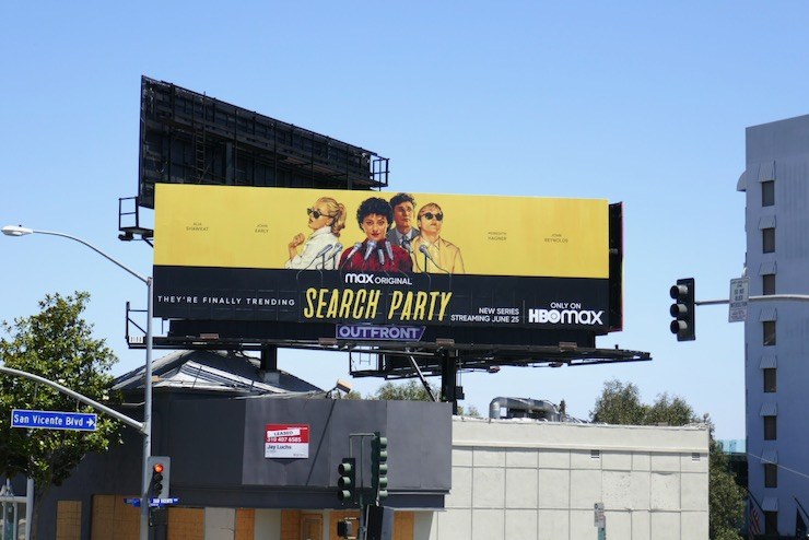 Search Party season 3 billboard