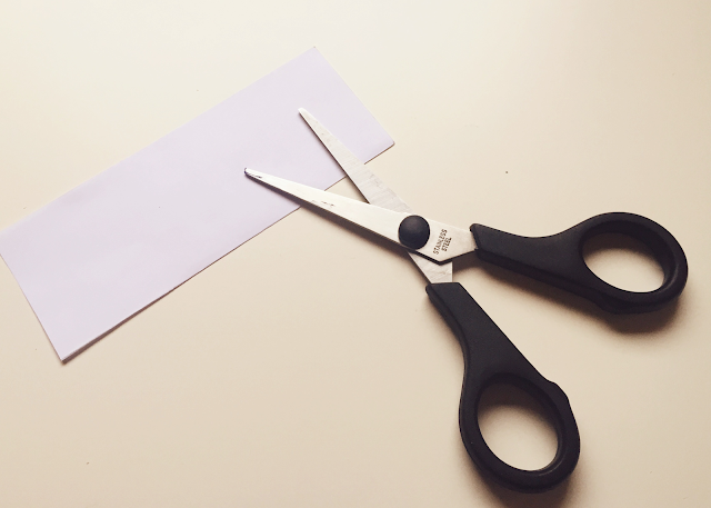 Scissors paper template