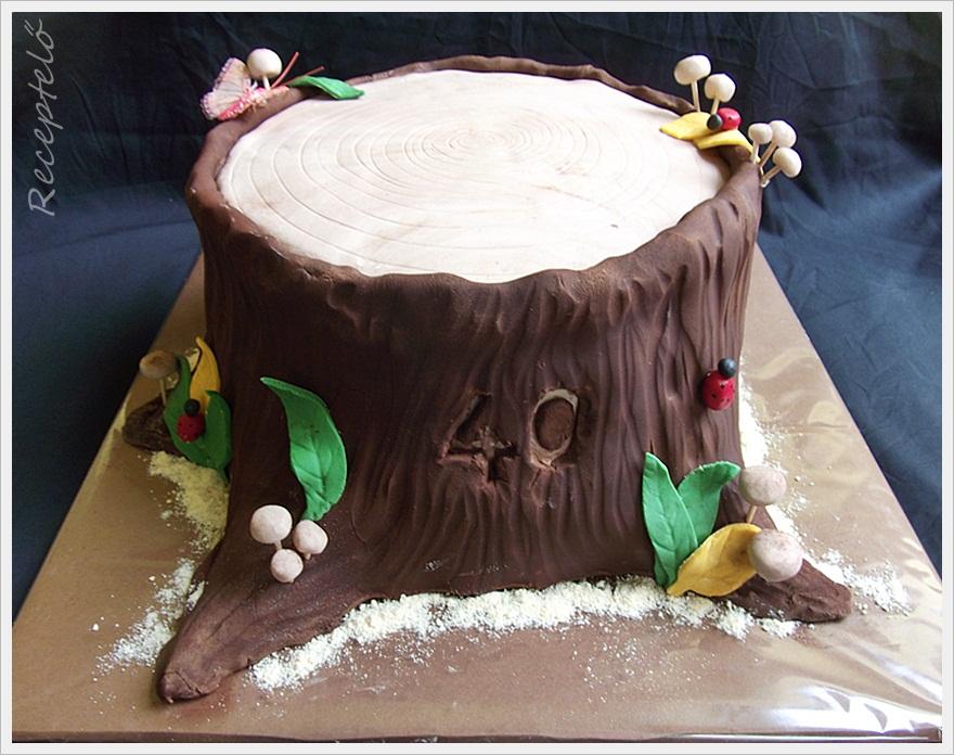fatörzs torta képek Receptelő: Fatörzs torta kívül belül fatörzs torta képek
