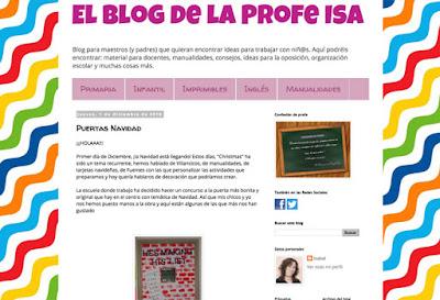 Reto Navideño - El blog de la profe Isa