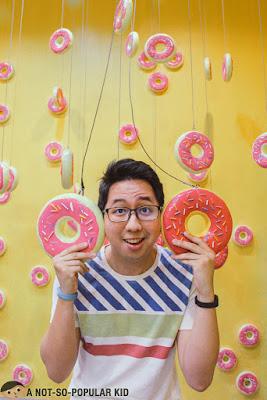 Renz Cheg in Donut Room - Dessert Museum